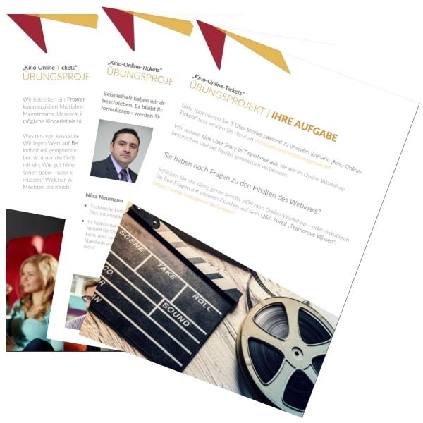 Übungsaufgabe Online-Workshop User Stories
